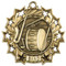 Band Ten Star Medal - Gold
