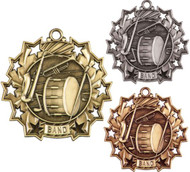Band Ten Star Medal - Gold, Silver & Bronze