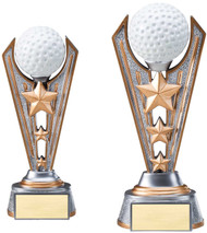 Golf Resin Victory Trophy