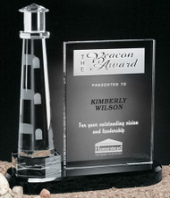 Journey Point Lighthouse Crystal Award