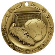 Gold Soccer World Class Medal