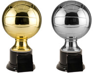 Volleyball Full Size Resin Trophy - Gold / Silver V-SBR