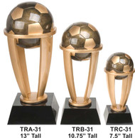 Tower Soccer Trophy - 3 sizes