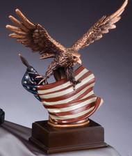 Eagle & Flag Resin Award