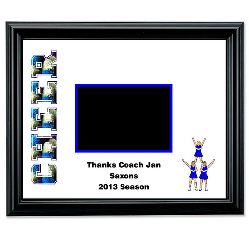 Cheerleading Autograph Picture Frame | Cheer Squad Autograph Photo Frame