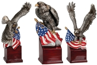 American Eagle Resin Trophy
