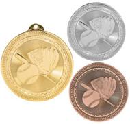 Softball BriteLazer Medal - Gold, Silver & Bronze