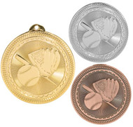 Softball BriteLazer Medal - Gold, Silver & Bronze | Slow Pitch Award | 2 Inch Wide