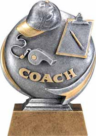 Coach Motion Extreme 3D Trophy | Coaching Award | 5 Inch Tall
