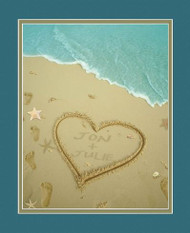Sand Names at the Beach Print - Personalized NF-Sand-Names