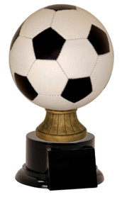 Soccer Ball Full Size Color Resin Trophy SBR153