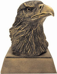 Eagle Head Mascot Sculptured Trophy RE-691