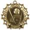 Baseball Ten Star Medal - Gold, Silver & Bronze | Little League 10 Star Award | 2.25 Inch Wide.Baseball Ten Star Medal - Gold
