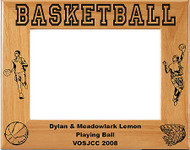 Basketball Male Picture Frame 1 - Personalized