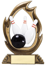Bowling Flame Series Trophy