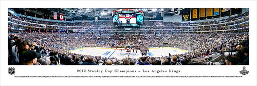 2012 Stanley Cup Championship Panorama Print - Unframed