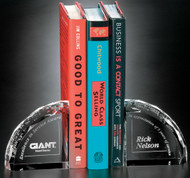 Crystal Bookends - Pair