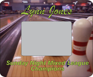 Bowling Picture Frame