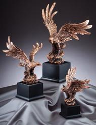 Eagle Bronze Finish Resin Award