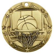 Gold Basketball World Class Medal