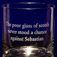 Rocks / Old Fashioned Glasses - Personalized