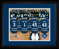Toronto Maple Leafs Locker Room Print - Personalized NHL-LRP-TOR