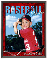 Baseball SV4-05 Plaque - Personalized