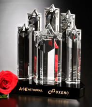 Prominence Crystal Corporate Award – 9""