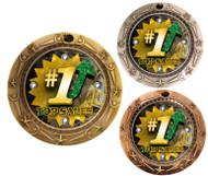 Top Sales World Class Medal - Gold, Silver & Bronze