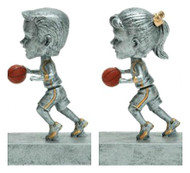 "Basketball ""Rock 'n Bop"" Bobblehead Trophy - Male / Female"