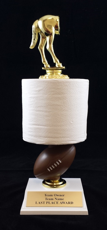 Toilet Paper Roll Fantasy Football Trophy | Loser Award ... - photo#46