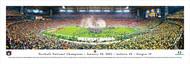 2011 Football National Championship Panorama Print