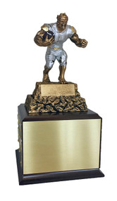 Fantasy Football Perpetual Monster Trophy - Cherry Base