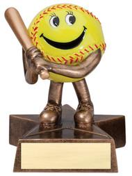 Softball Lil' Buddy Trophy