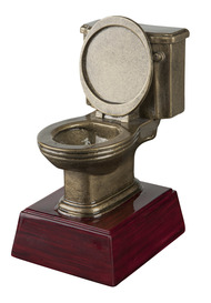 Gold Toilet Bowl Trophy