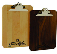 LIGHT MAPLE WOOD CLIPBOARD - Personalized