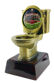 Fantasy Football Gold Toilet Bowl Trophy