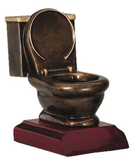 Toilet Bowl Trophy | Last Place Loser Award | 5 Inch Tall
