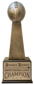 Silver Tower Football Perpetual Trophy