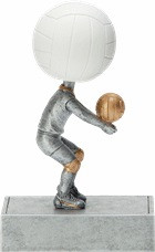 Volleyball Bobblehead Trophy