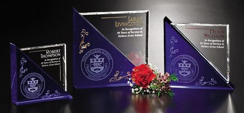 Acclaim Crystal Corporate Award - 3 Sizes