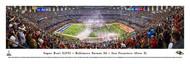 Super Bowl XLVII Panorama Print (2013) NFLSB-13