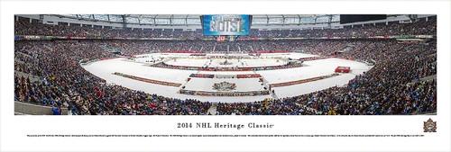 2014 Heritage Classic Panorama Print - Unframed
