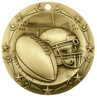 Gold Football World Class Medal