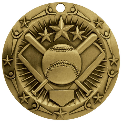 Gold World Class Softball Medal