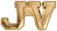 Chenille / Letter Jacket Pin - J V
