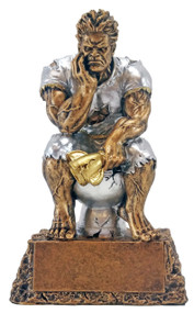 Monster on Toilet Bowl Last Place Trophy - Decade Awards Exclusive