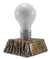 Light Bulb Trophy | Great Idea Award - Decade Awards Exclusive