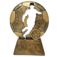 Soccer Ball Cut-Out Trophy