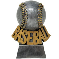 Baseball Trophy   Detailed Stitched Baseball Award   5.5 Inch